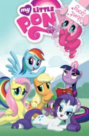 File:IDW My Little Pony Trade Paperback Volume 2 Cover.jpg