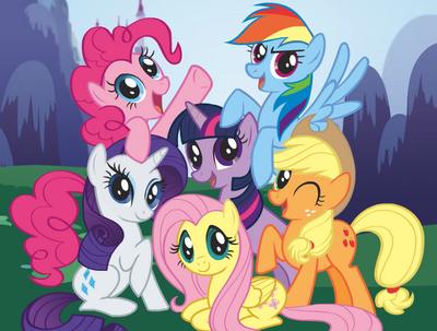 Meet the Ponies main crop