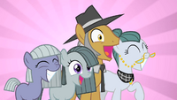 Pinkie Pie's family overjoyed by Pinkie's party S1E23.png