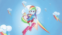 "Rainbow Dash transforms ""loyalty"" EG"