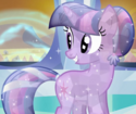 Twilight Sparkle as a Crystal Pony ID S3E2