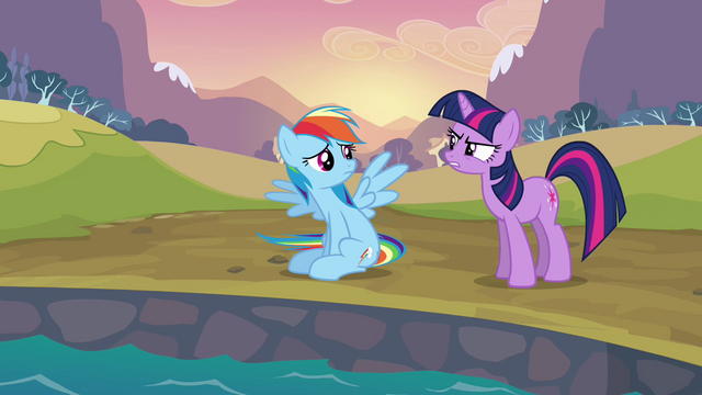 File:Twilight telling Rainbow Dash to quit S2E22.png