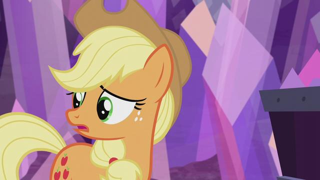 """File:Applejack """"I sure hope everypony else"""" S5E20.png"""
