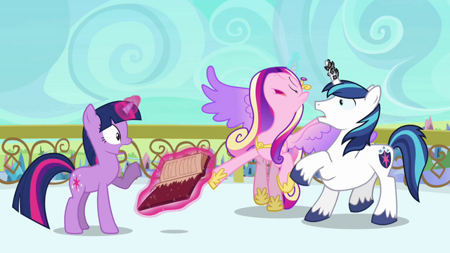 File:Cadance beginning to faint S3E1.png