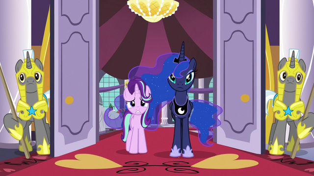 File:Luna and Starlight watch the delegates run away S7E10.png