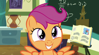 Scootaloo very proud of herself S7E7