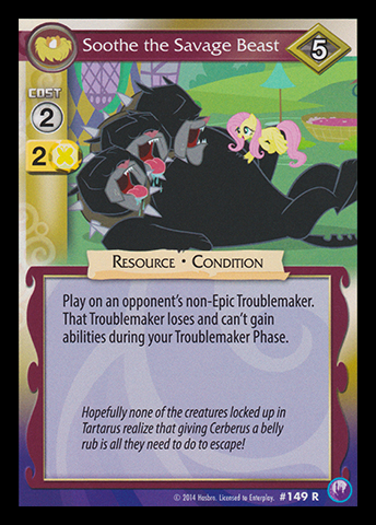 File:Soothe the Savage Beast card MLP CCG.jpg