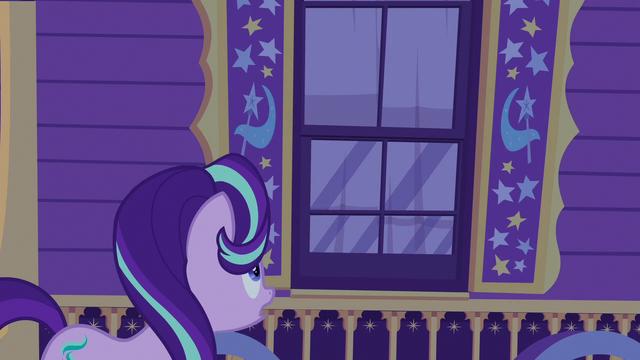 "File:Starlight Glimmer ""Trixie, we're in danger!"" S6E25.png"