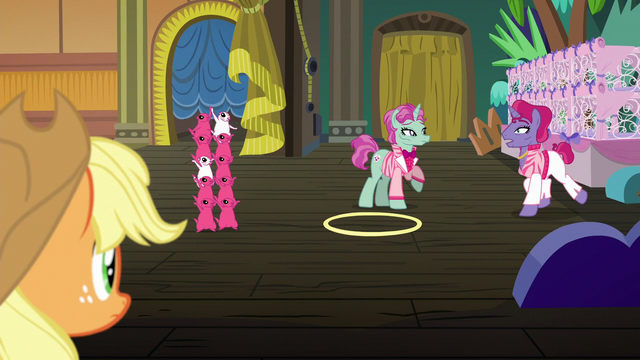 File:Trainer pony 2 trotting up to trainer pony 1 S6E20.png