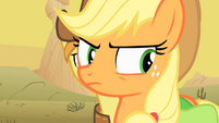 Applejack angry over what happened S1E21