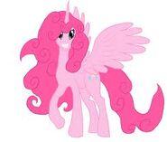 FANMADE Pinkie Pie as alicorn