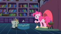 Pinkie Pie getting awkward S2E13