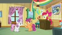 "Scootaloo ""I'm pretty sure we're all here"" S5E04"
