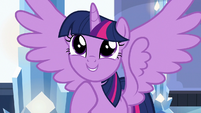 "Twilight Sparkle ""my pen pal quill set!"" S6E16"