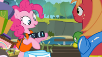 Pinkie Pie 'This one is for the scrapbook!' S4E09