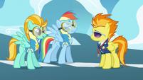 Rainbow Dash beaming grin S3E7