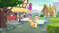 Applejack goes to catch up with Starlight S6E21
