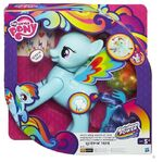Rainbow Dash Rainbow Power flip and whirl toy