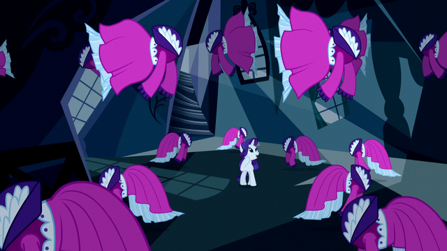 File:Rarity surrounded by floating dresses S5E13.png