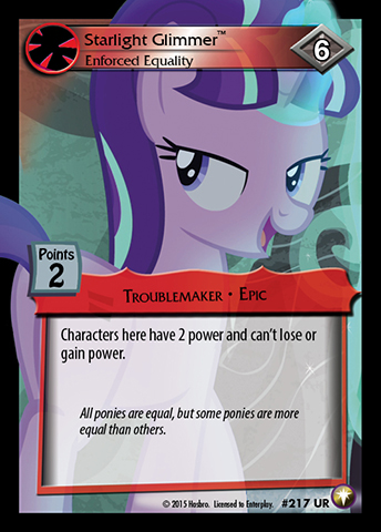 File:Starlight Glimmer, Enforced Equality card MLP CCG.jpg