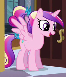 Younger Princess Cadance ID S2E25