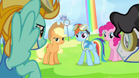 Rainbow Dash question awesome S3E7