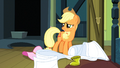 Applejack 'You got nothing to worry about sugar cube' S3E4.png
