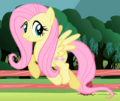 Fluttershy trotting CROPPED S2E7.png
