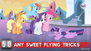 "Hot Minute with Twilight Sparkle ""flying tricks"""