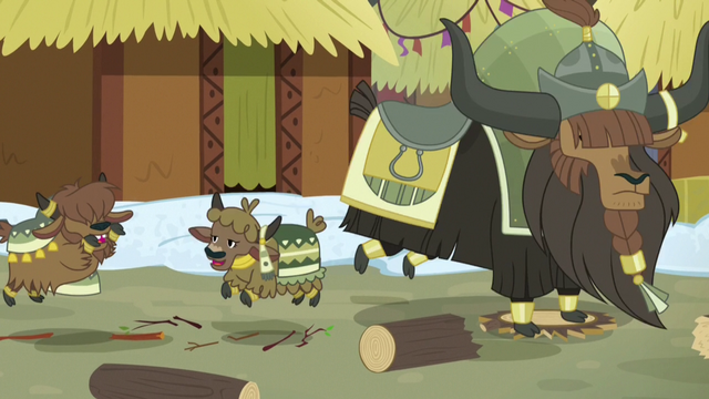 File:Old and young yaks stomping loudly S7E11.png