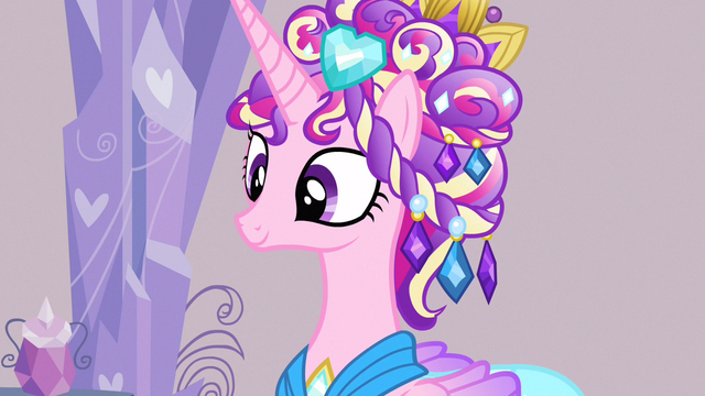 File:Princess Cadance waiting for good ending S3E12.png
