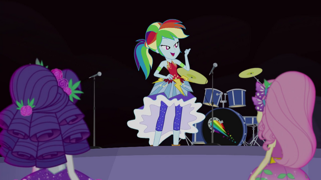 "File:Rainbow Dash ""set up the stage"" EG4.png"