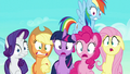 Mane Six scared S6E2.png