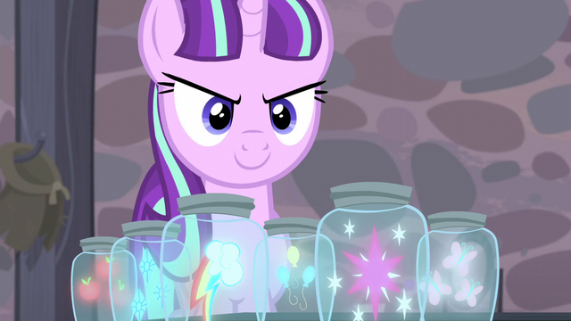 File:Starlight still has the Mane Six's cutie marks S5E2.png