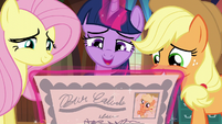 Twilight reading the second clue S5E19