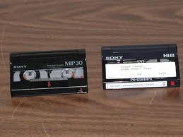 Video cassette tapes