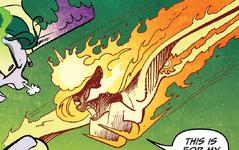 Comic issue 20 Solar Flare