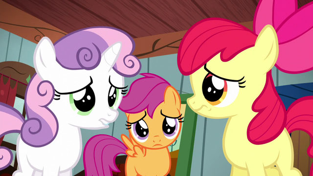 File:Cutie Mark Crusaders don't know what to do S5E6.png