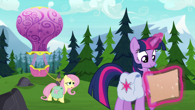 """File:Fluttershy straining """"we'll know very, very soon"""" S5E23.png"""