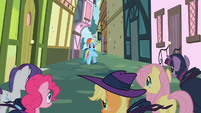 Rainbow Dash shocked S2E8