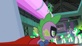 Spike pulling the tarp S4E06.png