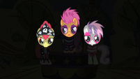 The Cutie Mark Crusaders on stage S1E18
