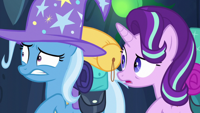 File:Trixie and Starlight hear Discord's voice S6E26.png