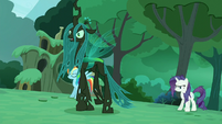 Chrysalis backs up S5E26