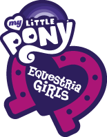 File:My Little Pony Equestria Girls logo Hasbro.com teaser site.png