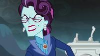 Principal Cinch's enraged expression EG3