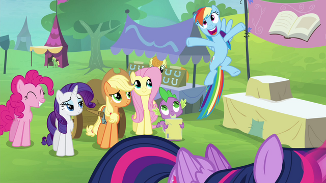 File:Rainbow Dash getting excited S4E22.png