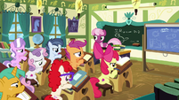 School foals groaning again S6E14