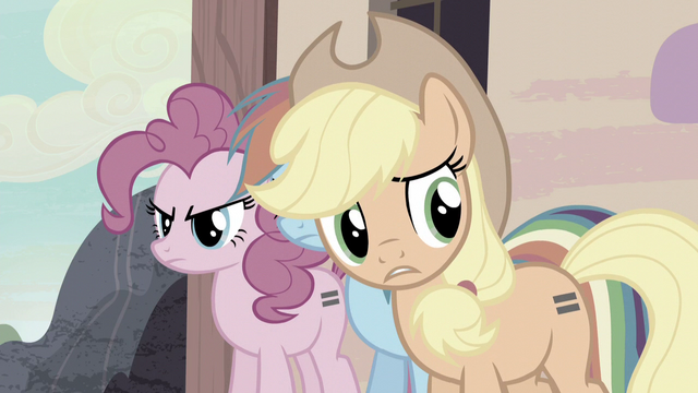 """File:AJ """"You can't force nopony to be friends!"""" S5E02.png"""