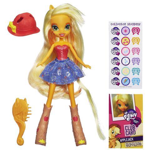 File:Applejack Equestria Girls doll.jpg